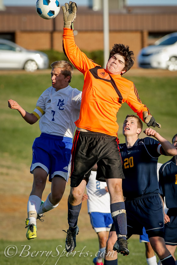 April 17, 2014.&lt;br /&gt;<br /> MCHS Varsity Boys Soccer vs Rappahannock.