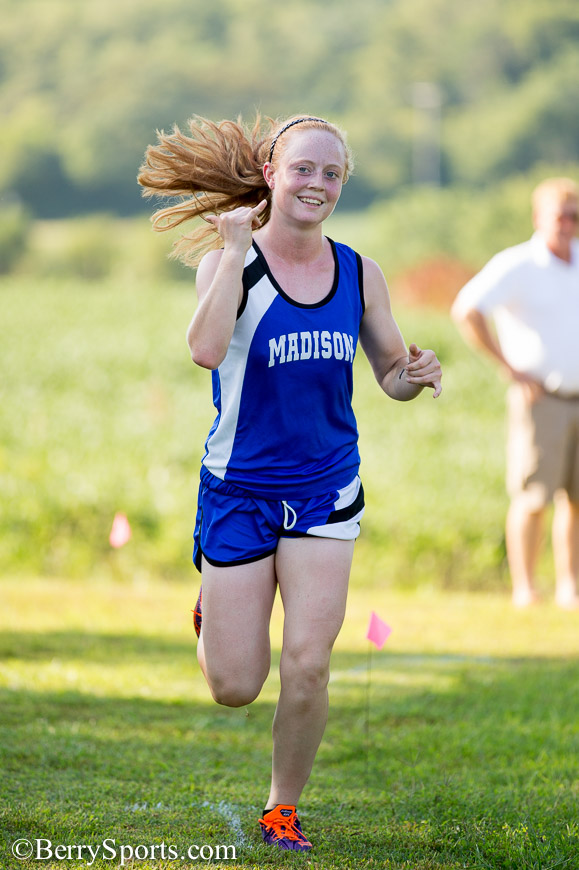 August 27, 2014.  MCHS Cross Country vs Fluvanna, Orange, and Luray