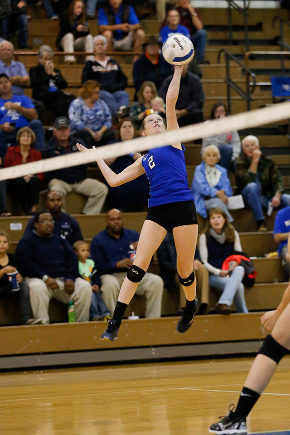 October 21, 2014.<br /> MCHS JV Volleyball vs Central Woodstock.  Madison wins 2-0.