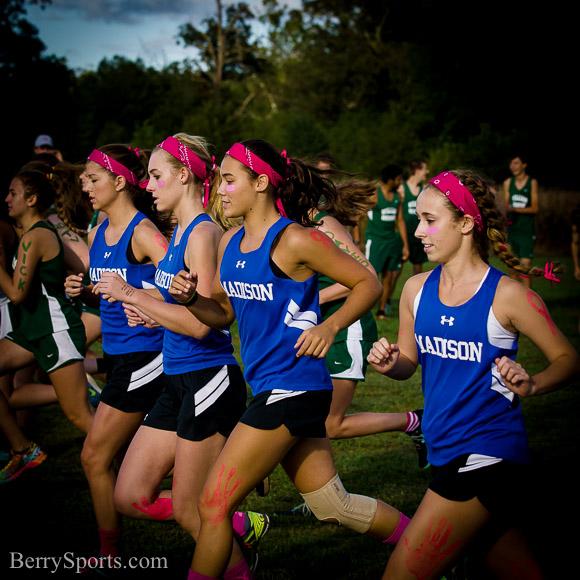 September 30, 2015. MCHS Girls Cross Country vs William Monroe