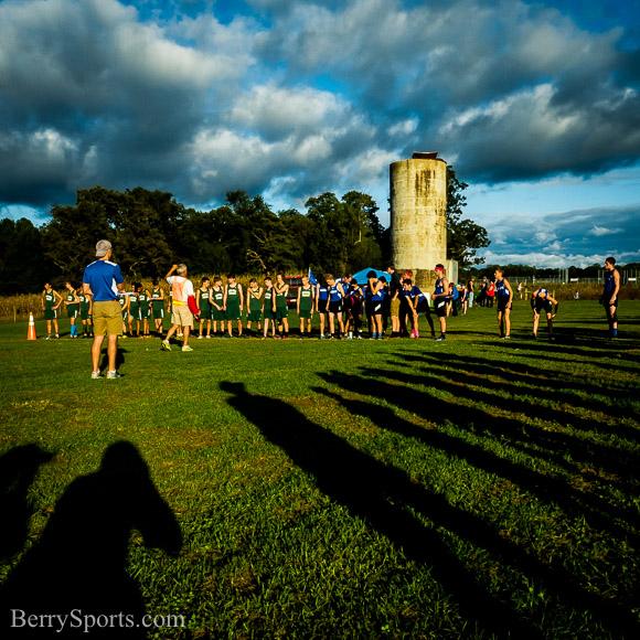 September 30, 2015. MCHS Boys Cross Country vs William Monroe