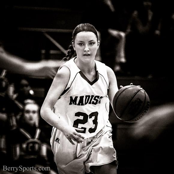 February 01, 2016. MCHS Varsity Girls Basketball vs Stonewall Jackson.